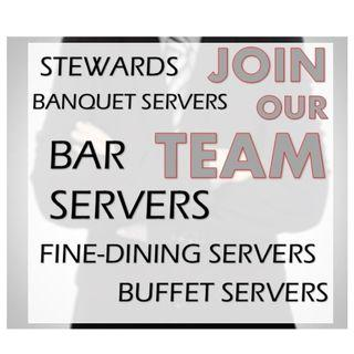Part time / Ad Hoc Servers for Hotels Required