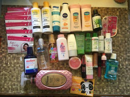 SKINCARE , LIPSTICK, HAIRCARE, MAKE UP