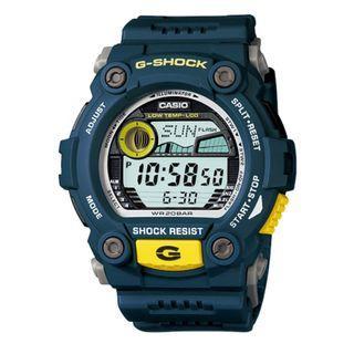 [✅FREE postage]: ✅💯Authentic Casio G-Shock Standard Digital Blue Resin Watch G7900-2D G-7900-2D