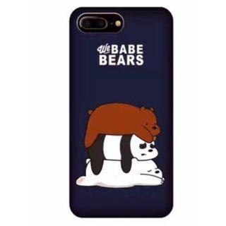 """🚚 iPhone X/XS/XR/XS Max """"We Babe Bears"""" Hard Case Cover"""