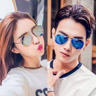 特 男/女款太陽眼鏡 藍 Sunglasses blue