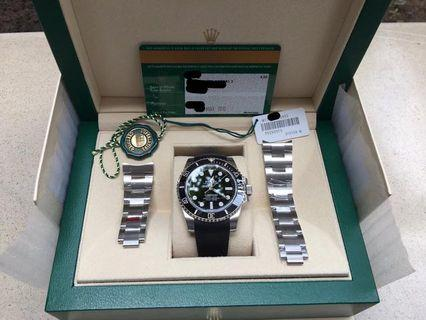LNIB Rolex Submariner No Date 114060