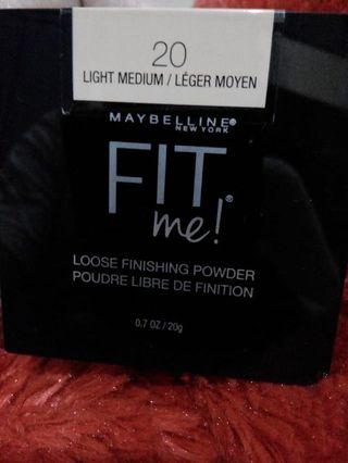 Maybelline Fit Me! Loose Finishing Powder no 20
