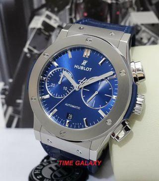HUBLOT Classic Fusion Blue Dial Automatic Chronograph 45MM Men's Watch