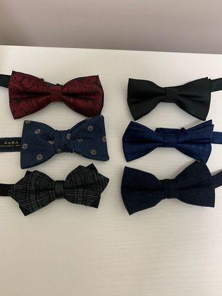 結婚婚禮返工煲tie bow tie zara