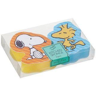 日本 Snoopy 洗碗棉 一盒2件