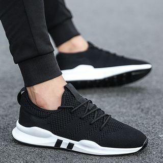 🚚 Men's shoes spring and summer 2019 men's sports shoes Korean running shoes casual breathable men's shoes soft bottom shoes