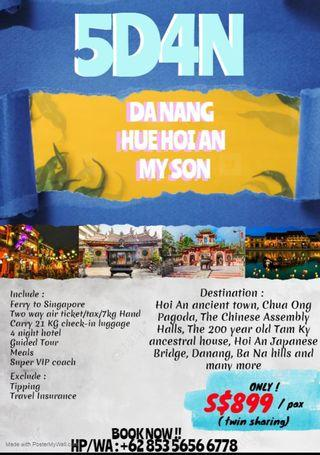 🚚 5 day 4 night Danang