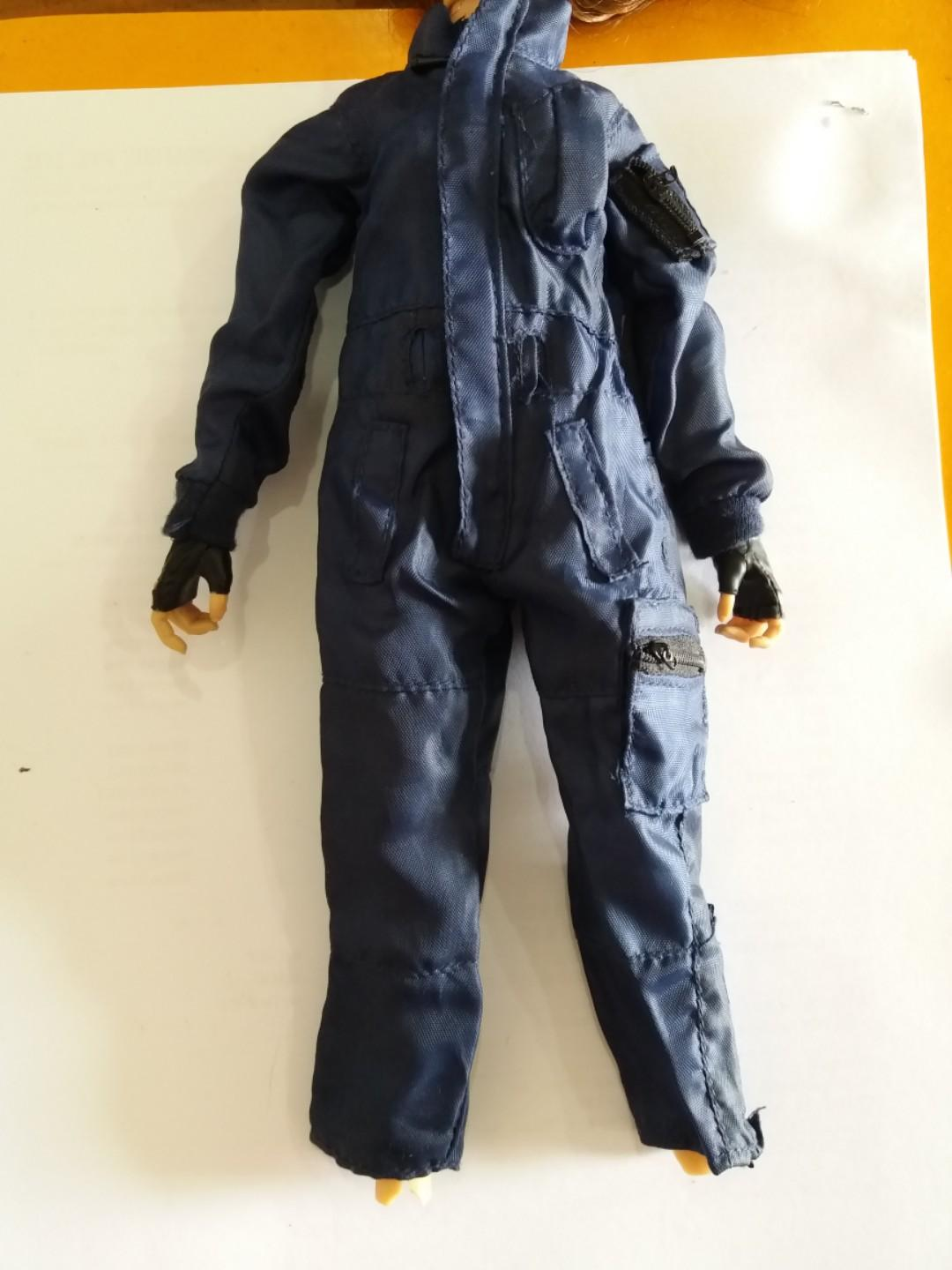 1:6 Scale Female Clothes Trousers /& Vest for 12/'/' Soldier Phicen Figure Doll