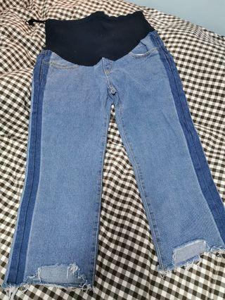 全新 孕婦牛仔褲
