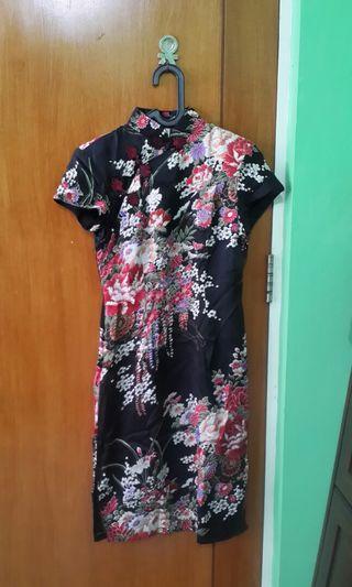 Sakura Cheongsam dress