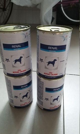 Royal Canin Renal can food for dogs