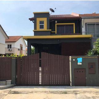 DOUBLE STOREY (END LOT) TERRACE HOUSE  @ Jalan Setia Indah, Setia Alam