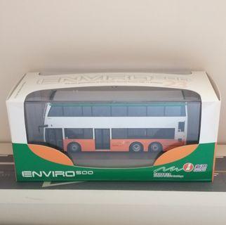 全新Model1 1:76新巴E500 11.3m巴士模型 非九巴 城巴 Tiny Tomica