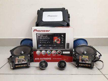 Pioneer SQ Sound System