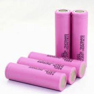 100% Samsung 2600mAh 3.7V 18650 Rechargeable Battery