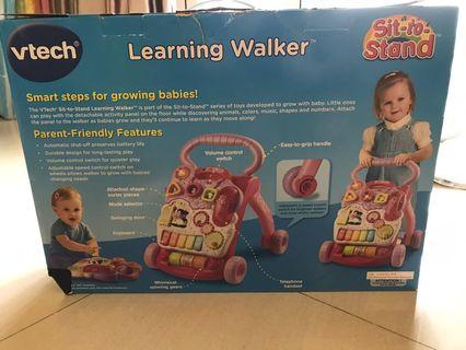 VTECH Learning Walker /寶寶學行車