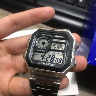 Casio Illuminator AE-1200WHD