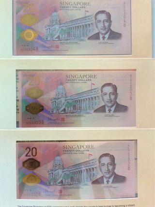 Bicentennial $20 - 553028/38/48