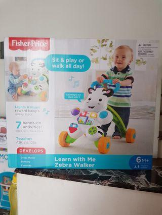 NEW Fisher Price Walker