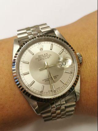 Original Rolex 16234 datejust