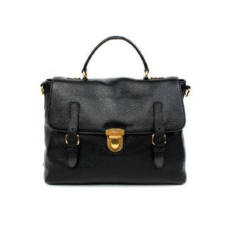 Prada BN2628 - Palissandro Leather Bag in Black Colour
