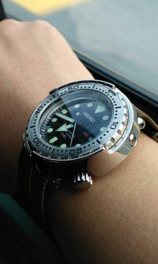 Seiko diver Marine Master Tuna SBBN033