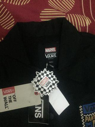 VANS X Marvel Comics Black Panther Torrey Jacket Mens