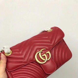 Gucci Marmont small quilted leather
