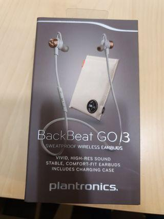 Plantronics Backbeat Go 3 new