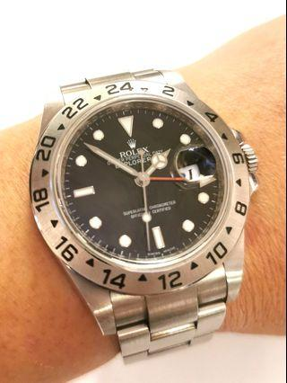 Complete cert/box Rolex Explorer 2 with chapter ring 3186