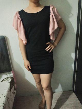 Dress Hitam formal