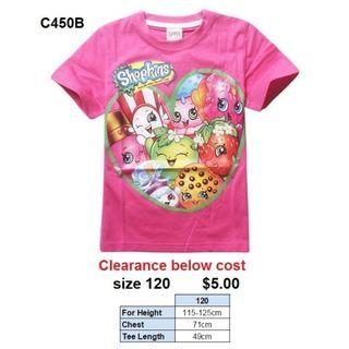 ***CLEARANCE*** Shopkins Tee C450B