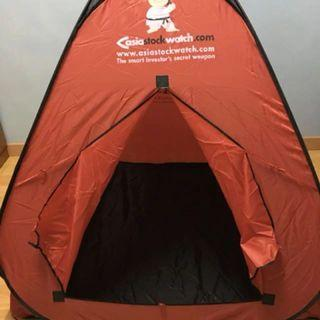 New Collapsible Camping Tent – Red