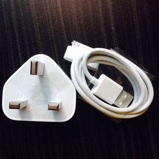 🚚 100% Original Apple cable lightning cable+apple plug charger