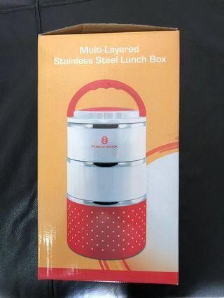 BNIB 3 Layer Lunchbox