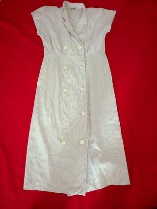 🚚 Dirty White long Dress
