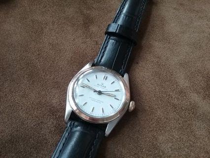 古董勞力士上鏈手錶冬菇的 金萱 金字