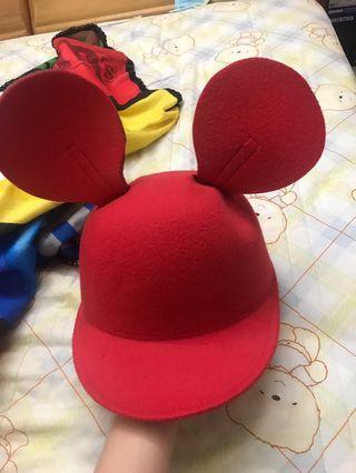 迪士尼風米奇帽子