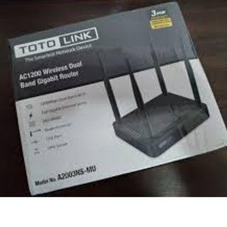 TOTOLINK A2003NS-MU AC1200 雙頻 Gigabit無線路由器