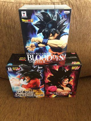 DragonBall GT Blood of Saiyan 3 pieces Bundle Sales