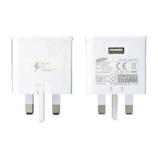 🚚 100% Original Samsung Fast Charge Power Plug-Black/White