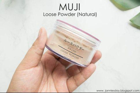 Muji loose powder
