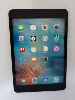 Ipad Mini 1 16gb cellular WiFi black(used)