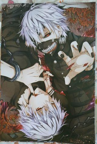 Tokyo Ghoul Anime A3 Posters