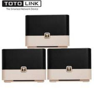 TOTOLINK T10 AC1200 Mesh Router ( 3 in 1 Sets )