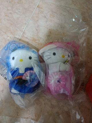 Limited edition Hello Kitty stuffed toys