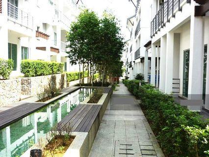 Ground Floor Duplex with Courtyard @BAYAN VILLA, Taman Bukit Serdang for ONLY RM562,000 (Market value RM770,000)