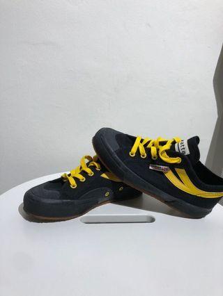 Black and Yellow Superga