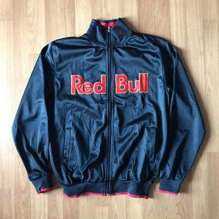 Red bull bomber jacket motorcycle jacket no hoodie